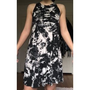 PPLA b&w marble dress